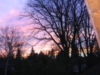 Sonnenuntergang von der Loggia gesehen - Bild 20: XXL Apartment Berlin *Wohnen auf Zeit* Mit Abstand! Eigene Etage
