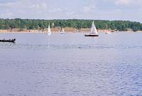 Von Kladow kann man das Strandbad Wannsee sehen - Bild 23: Berlin XXL Apartment an der Badewiese Toplage *WLAN* Hunde